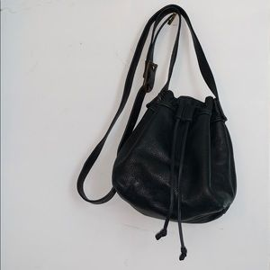 J. Jill Black Leather Purse